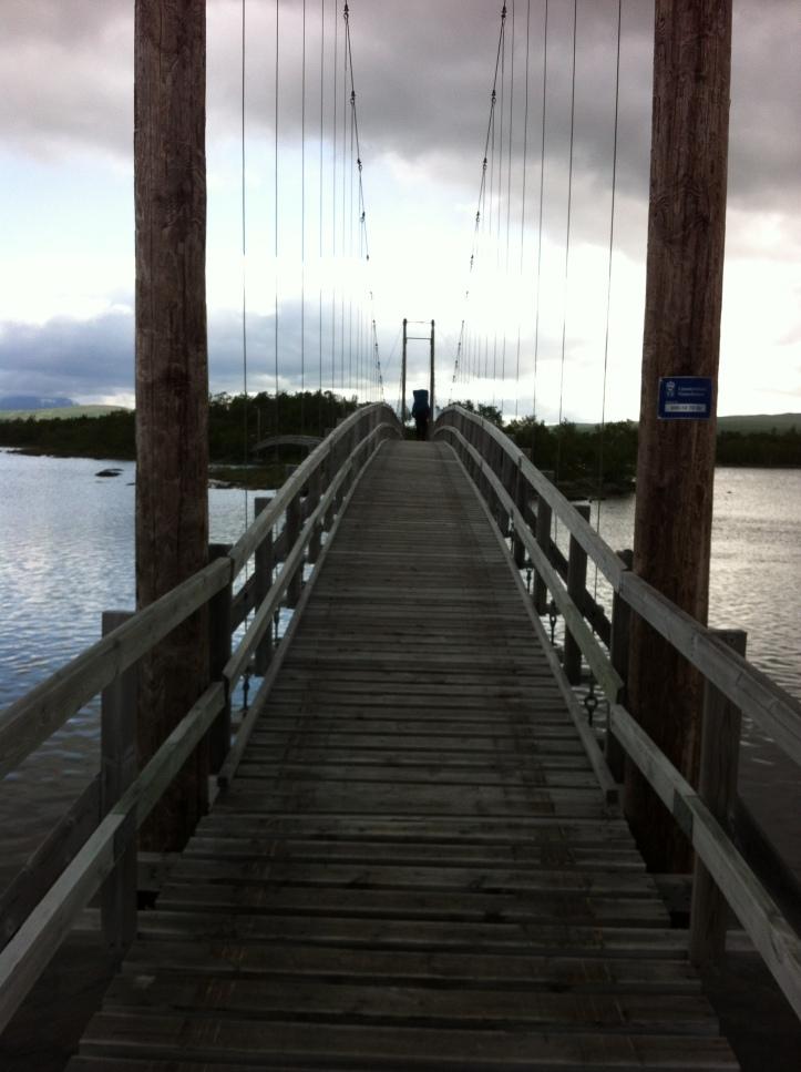 Bro på Kungsleden